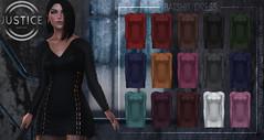 JUSTICE BATSHIT DRESS PIC ([:.UNDERGROUND & JUSTICE.:]) Tags: secondlife fashion avatar virtualworld virtual 3d 2ndlife ava avi sl style maitreya slink physique hourglass belleza venus isis freya