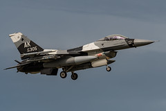 F-16 86-305 (RichardE73) Tags: f16 usaf pacaf aggressors raaf williamtown blue foxes canon 5dmk111 100400 jets