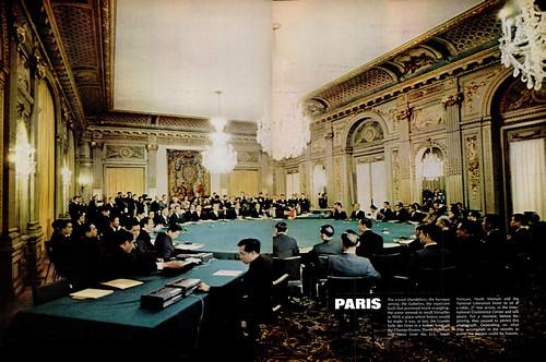 LIFE Magazine Feb 7, 1969 (1) - Special Report - Paris peace talks and some provocative flag waving
