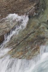 Glacier's Watery Color (s_jenkV2) Tags: glacier park glacierpark montana mt national forest mountain peak river snow winter water color rock cold sunny weather lake mcdonald macdonald creek rushing falls 2019 canon 70d going sun road