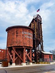 Watertower (Greg Jarman) Tags: greenfieldvillage michigan dearborn tourist attraction omd em5 mk ii micro four thirds m43