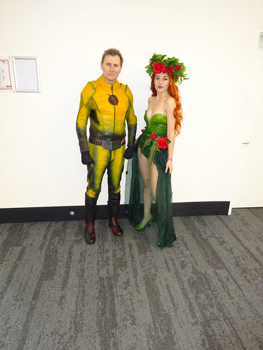 Eobard Thawne and Poison Ivy
