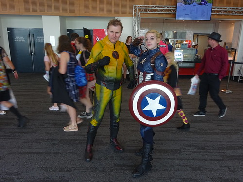 Eobard Thawne and Captain America