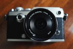 Olympus Pen-F X 17mm f1.8 (Wan.L) Tags: オリンパス 台北 台灣 taipei taiwan silver black new 17mmf18 camera toy grii ricoh m43 penf olympus
