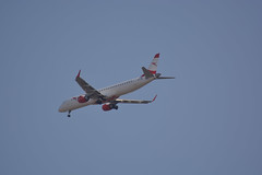 OE-LWE (陈霆, Ting Chen, Wing) Tags: os265 embraererj195lr austrianairlines oelwe aua265