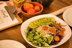 Ensalada Quinoa (brujulea) Tags: brujulea restaurantes bares barcelona cal trapella cuina mercat ensalada quinoa