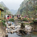 Waterfall Bridge Sapa Vietnam .CR2