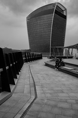 Walkie talkie (Scott Baldock) Tags: walkie talkie london city architecture bw mono rooftop