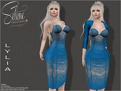 [Selene Creations] Lylia (Selene Morgan) Tags: selenecreations dress lylia bolero maitreya belleza slink