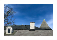 Behind the Library (Timothy Valentine) Tags: 0419 large roof chimney dormer 2019 fbpost hrsw eastbridgewater massachusetts unitedstatesofamerica