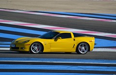 CHEVROLET Corvette C6 Z06 Coupé - 2006 (SASSAchris) Tags: chevrolet corvette c6 z06 coupé voiture américaine auto 10000 tours castellet circuit ricard