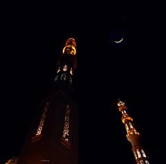 Hurghada_Moschee_Al_Mina_2a_tx_DSC_0208 (said.bustany) Tags: 2019 april ägypten hurghada egypt public mosque moschee almyna nacht night moon مسجد الميناء الكبير الغردقة مصر