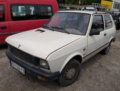 1995 Yugo Tempo 1.0E (FromKG) Tags: yugo zastava tempo 10e white car kragujevac serbia 2019