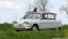 Citroën Ami 6 1968 (XBXG) Tags: 6896fl citroën ami 6 1968 citroënami6 citroënami ami6 blanc white voorjaarsrit 2019 amiverenigingnederland avn damweg lopik utrecht nederland holland netherlands paysbas vintage old classic french car auto automobile voiture ancienne française france frankrijk vehicle outdoor