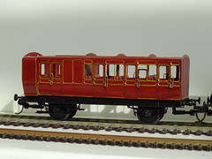 DSC00005 (BluebellModelRail) Tags: lbscr londonbrightonsouthcoastrailway oo 4mm roxeymouldings brass bluebellrailway etchedkit solder 949 brakethird mahogany carriage 4wheeler southernrailway