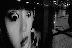 S0020080A Urban space (soyokazeojisan) Tags: japan osaka city street people bw blackandwhite monochrome digital fujifilm xq2 2019