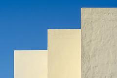 Geometry with three walls (Jan van der Wolf) Tags: map194600v yellow walls muren lanzarote geometric gebouw gevel geometrisch geometrie geometry three drie 3 minimalism minimalistic minimalisme minimal minimlistic simple simpel arrecife