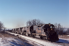 RR-19790310-DRGW-1 (skyviewtim) Tags: 745am arvada drgw5364 mar101979 slde train705 slide