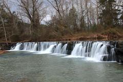 Natural Dam Falls on Mountain Fork Lee Creek - Crawford County, Arkansas (danjdavis) Tags: naturaldamfalls waterfall mountainforkleecreek crawfordcounty arkansas
