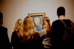 Oh Vincent (Steve Bowbrick) Tags: 35mm tatebritain vincentvangogh exhibition london art gallery