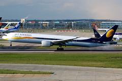Jet Airways | Boeing 777-300ER | VT-JEM | London Heathrow (Dennis HKG) Tags: aircraft airplane airport plane planespotting canon 7d 100400 london heathrow egll lhr jetairways india jai 9w boeing 777 777300 boeing777 boeing777300 777300er boeing777300er vtjem