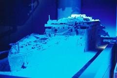 Titanic (goodfella2459) Tags: nikonf4 afnikkor50mmf14dlens cinestill800t 35mm c41 film analog colour titanic jamescameron sydney nationalmaritimemuseum history jamescameronchallengingthedeep manilovefilm