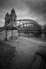 Siemenssteg (Sascha Gebhardt Photography) Tags: nikon nikkor d850 1424mm lightroom langzeitbelichtung berlin germany deutschland fototour fx reise roadtrip reisen hauptstadt travel tour