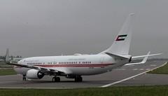 Dubai Air Wing Boeing 737-800 A6-HEH at Cambridge Airport (CBGSpotter) Tags: dub dublin dublinairport cambridgeairport cambridgeplanespottig cambridge cbg cbgairport dubaiairwing dubai boeing b737 b738 boeing737 a6heh planespotting aviation avgeek avpics avporn