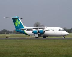 Aer Lingus                                         Avro RJ85                                          EI-RJD (Flame1958) Tags: 9106 aerlingus aerlingusplane aerlingusnewlivery aerlingusrebranding eidw dublinairport dub 170419 0419 2019 aerlingusregional aerlinguscommuter aerlingusrj85 aerlingusavro avro avrorj85 regionaljet eirjd