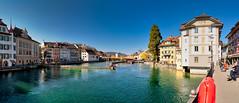 Luzern/Schweiz 21. März 2019 (karlheinz klingbeil) Tags: suisse fluss schweiz wasser switzerland stadt river panorama water city luzern kantonluzern