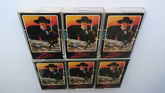 IMG_8045 (gizmomagic) Tags: zxspectrum amstrad c64 commodore64 atari800 atari65 atari130 atarixl atarixe atari8bit atari600 atari400 atarigame ataridiscgame atari 8bit ataritapegame collection trade game tape cassette retro vintage computer usgold zorro