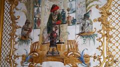 Chantilly, Oise - France (Mic V.) Tags: château de chantilly chateau castle renaissance building architecture french history histoire france oise la grande singerie monkey inge painting peinture condé conde prince duke duc bourbon