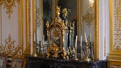 Chantilly, Oise - France (Mic V.) Tags: château de chantilly chateau castle renaissance building architecture french history histoire france oise chambre monsieur le prince clock horloge antique condé conde duke duc bourbon