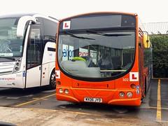 502 WX06JYD (PD3.) Tags: go ahead goahead group gsc south coast eastleigh hampshire england uk bus buses psv pcv barton park hants dorset bluestar volvo wright thamesdown swindon