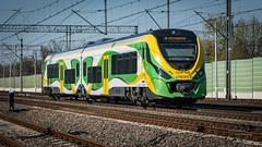 Newag 222M-001B (Rafał Jędrasiak) Tags: newag train wolomin 222m a6500 sony emount