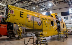 XZ589 Royal Air Force Westland Sea King HAR.3 @ HMS Sultan, Gosport, Hampshire. (PoSm Photography) Tags: xz589 royal air force westland sea king har3 hms sultangosport hampshire