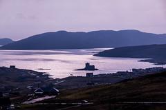 Kisimul Castle and Castlebay, Barra (Briantc) Tags: scotland westernisles barra isleofbarra kisimul castle kisimulcastle light castlebay