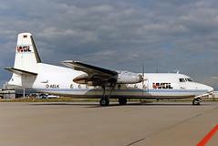 "WDL Fokker 27 D-AELK ""Petra"" (gooneybird29) Tags: flugzeug flughafen aircraft airport airplane airline muc fokker fokker27 daelk wdl"