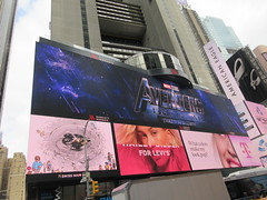 Avengers Endgame Electric Billboard Times Square 6380 (Brechtbug) Tags: avengers endgame steve rogers captain america thor iron man black widow the hulk super soldier marvel shield guardians galaxy comic book hero times square electric billboard movie poster 04172019 theatre holiday ornaments chris evans robert downey jr mark ruffalo hemsworth scarlett johansson 34th street new york city 2019 nyc standee thanos bad guy electronic brie larson carol danvers vers end game