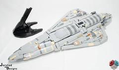 DSC_1353 (Jorstad Designs, LLC) Tags: lego star wars rebel alliance fleet mon calamari scale moc ucs jorstad designs llc mc80a mc80b home one liberty cruiser class hammerhead corvette mc30c frigate dp20 blockade runner