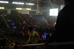 Lightsabers in crowd (Pixiagraphy) Tags: star wars celebration starwarscelebration starwars convention chicago mccormick con