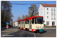 Tram Frankfurt (O) - 2019-14 (olherfoto) Tags: bahn tram tramcar tramway strassenbahn villamos frankfurtoder tatra kt4d