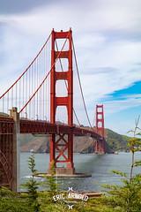 Golden Gate (Eric Arnold Photography) Tags: golden gate bridge telescope binoculars vista point sausalito ca california city bay pacific ocean view canon 80d bokeh 2470 san francisco frisco goldengate goldengatebridge sanfrancisco