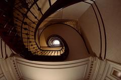 Fisheye staircase (kuestenkind) Tags: treppenhaus hamburg staircase stairs northgermany norddeutschland fisheye weitwinkel 12mm canon 6d