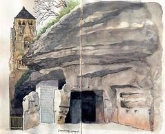 Brantôme , une carrière (Cat Gout) Tags: dordogne périgord nouvelleaquitaine village abbaye carrière eu église brantôme