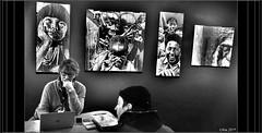 Des vies, des choix, de l'espoir..... (mamasuco) Tags: urbanartfair paris nikon d7000 ngc noiretblanc streetart