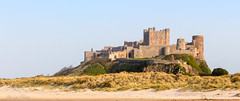 Bamburgh Catle (Adam_Leach) Tags: castle beach spring