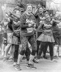 Life's For Keeps 03 (lightandform) Tags: life bw monochrome dance spring black white people stroke event charity runners run hope soul heroes dedication energy focus winners winner