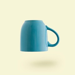 teal ceramic mug - Credit to https://myfriendscoffee.com/ (John Beans) Tags: coffee cafe coffeebeans shopbeans espresso coffeecup cup drink cappucino latte
