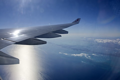 Florida Keys - from AV127 © (CAUT) Tags: florida floridakeys sea mar caribe caribbean kmia miami miamiinternationalairport vuelo vueloav127 flight av127 avianca av ava n803av airbusa330300 a330 airbusa330 2019 caut nikond610 nikon d610 aviation aviacion windowseat window ventana view vista avion aircraft flugzeug sun cielo sky nube cloud paisaje ala wing sol light aviancaa330300 spotting aircraftspotting planespotting spotter airplane plane flughafen aeropuerto airport usa kolumbien